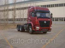 Sinotruk Hohan dangerous goods transport tractor unit ZZ4255N3246E1W