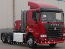 Sinotruk Hania container transport tractor unit ZZ4255N3845C1CZ
