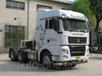 Sinotruk Sitrak dangerous goods transport tractor unit ZZ4256V323HD1W