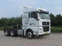 Sinotruk Sitrak dangerous goods transport tractor unit ZZ4256V324HD1W