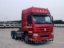 Methanol/diesel dual fuel tractor unit