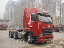 Sinotruk Howo container transport tractor unit ZZ4257N3247P1Z