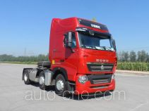 Sinotruk Howo dangerous goods transport tractor unit ZZ4257V25CHD1W