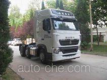 Sinotruk Howo dangerous goods transport tractor unit ZZ4257V26FHE1W