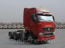 Sinotruk Howo dangerous goods transport tractor unit ZZ4257V323HD1W