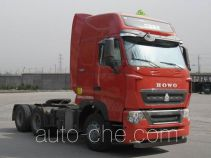 Sinotruk Howo dangerous goods transport tractor unit ZZ4257V324HD1W