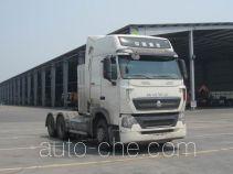 Sinotruk Howo dangerous goods transport tractor unit ZZ4257V384HE1LW