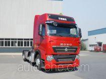 Sinotruk Howo dangerous goods transport tractor unit ZZ4257W25CHE1W