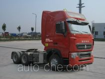 Sinotruk Howo dangerous goods transport tractor unit ZZ4257W323HE1W