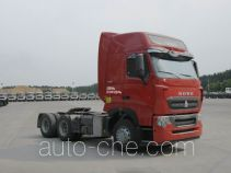 Sinotruk Howo container carrier vehicle ZZ4257W323HE1Z