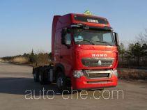 Sinotruk Howo dangerous goods transport tractor unit ZZ4257W324HE1W