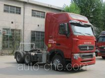 Sinotruk Howo container carrier vehicle ZZ4257W324HE1Z