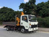 Sinotruk Howo truck mounted loader crane ZZ5047JSQF341CE145