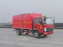 Sinotruk Howo flammable gas transport van truck ZZ5047XRQF341CE145