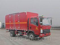 Sinotruk Howo flammable liquid transport van truck ZZ5047XRYF341CE145