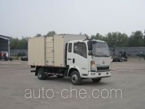 Sinotruk Howo box van truck ZZ5047XXYC3315E145