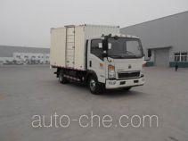 Sinotruk Howo box van truck ZZ5047XXYD3415E145C