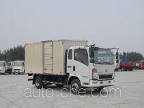 Sinotruk Howo box van truck ZZ5047XXYG3314E145
