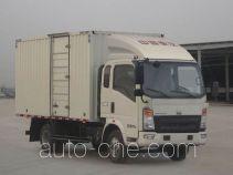 Sinotruk Howo box van truck ZZ5067XXYF341BD165