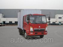 Sinotruk Howo box van truck ZZ5077XXYD3414D174