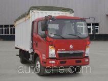 Sinotruk Howo soft top box van truck ZZ5087CPYD3414D183