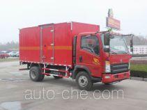 Sinotruk Howo flammable gas transport van truck ZZ5087XRQF331CE183