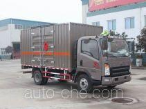 Sinotruk Howo flammable liquid transport van truck ZZ5087XRYF331CE183