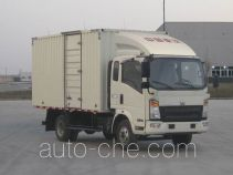 Sinotruk Howo box van truck ZZ5087XXYF341BD183