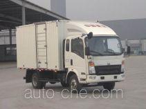 Sinotruk Howo box van truck ZZ5087XXYF341CD183