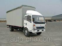 Sinotruk Howo soft top box van truck ZZ5107CPYD4215D1
