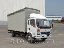 Sinotruk Howo soft top box van truck ZZ5107CPYD4515D1