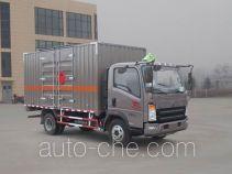 Sinotruk Howo flammable liquid transport van truck ZZ5107XRYG421CE1