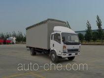 Sinotruk Howo soft top box van truck ZZ5127CPYD3615D1