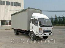Sinotruk Howo soft top box van truck ZZ5127CPYD3815D1
