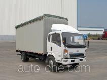Sinotruk Howo soft top box van truck ZZ5127CPYD4715D1