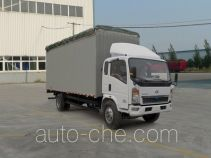 Sinotruk Howo soft top box van truck ZZ5127CPYD5215D1