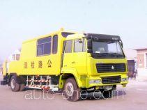 Sida Steyr road testing vehicle ZZ5156TLCM6016C1