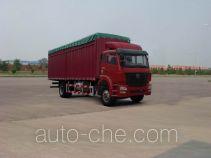 Sinotruk Hohan soft top box van truck ZZ5165CPYF5213C1