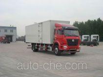 Sinotruk Hohan box van truck ZZ5165XXYM5713E1L