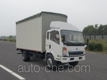 Sinotruk Howo soft top box van truck ZZ5127CPYG3415D1