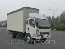 Sinotruk Howo soft top box van truck ZZ5107CPYG3815D1
