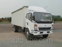 Sinotruk Howo soft top box van truck ZZ5107CPYG4515D1