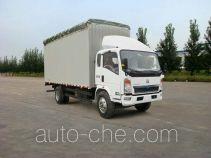 Sinotruk Howo soft top box van truck ZZ5127CPYG4715D1