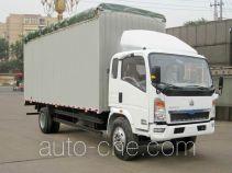 Sinotruk Howo soft top box van truck ZZ5127CPYG5215D1