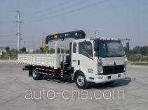 Sinotruk Howo truck mounted loader crane ZZ5167JSQG451CE1