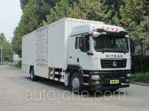 Sinotruk Sitrak box van truck ZZ5186XXYN711GE1