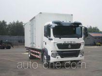 Sinotruk Howo box van truck ZZ5187XXYK561GE1