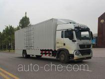 Sinotruk Howo box van truck ZZ5187XXYN711GE1H