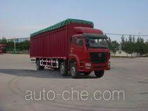 Soft top box van truck Sinotruk Hohan