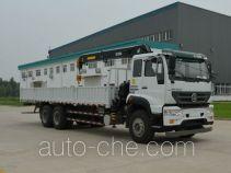 Sida Steyr truck mounted loader crane ZZ5251JSQM574GD1